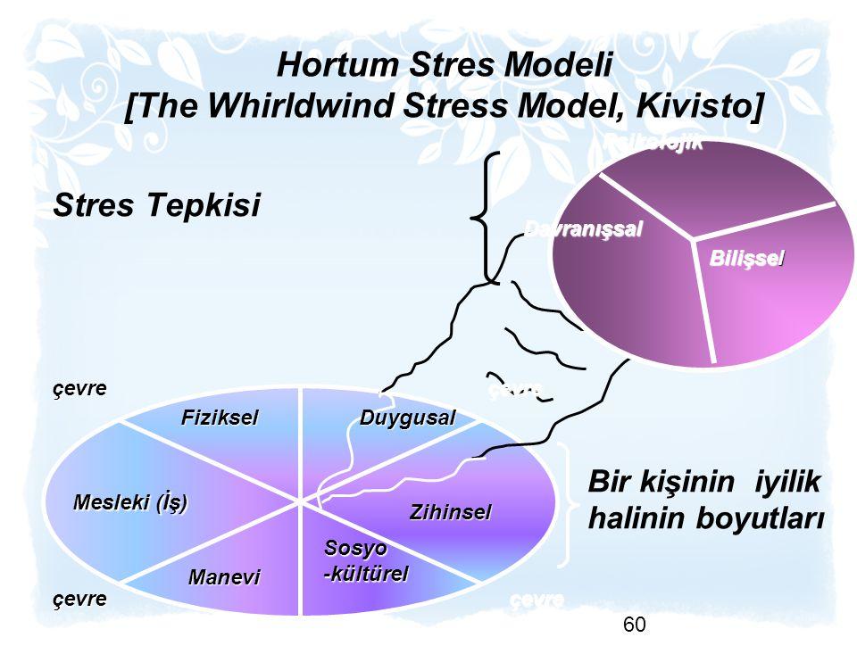 Hortum Stres Modeli [The Whirldwind Stress Model, Kivisto]